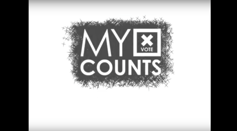 my vote counts logo