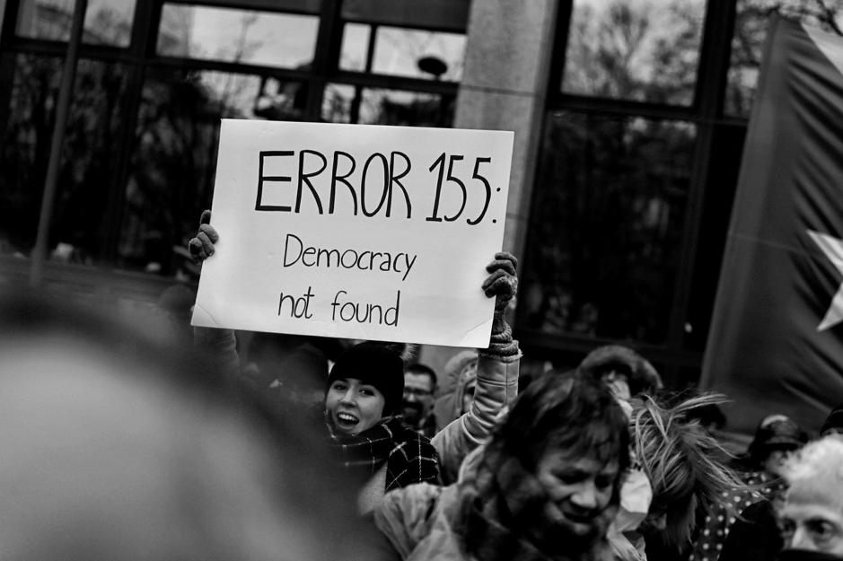 democratic voice display