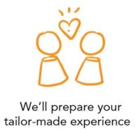 We'll prepare your tailor-made experience