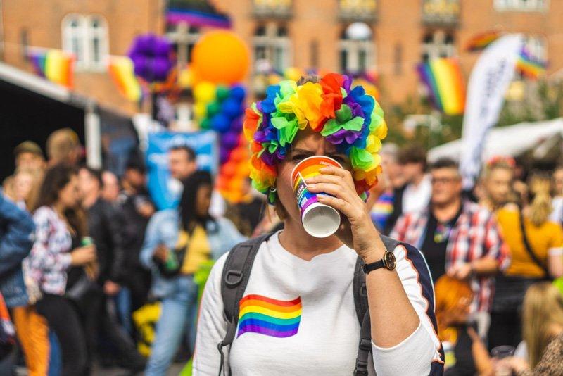 celebrating gay pride and human rights
